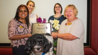 Ty Enfys receives ORCHID award