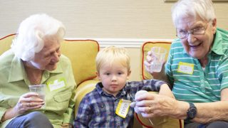 Kew House care home bridges the generation gap