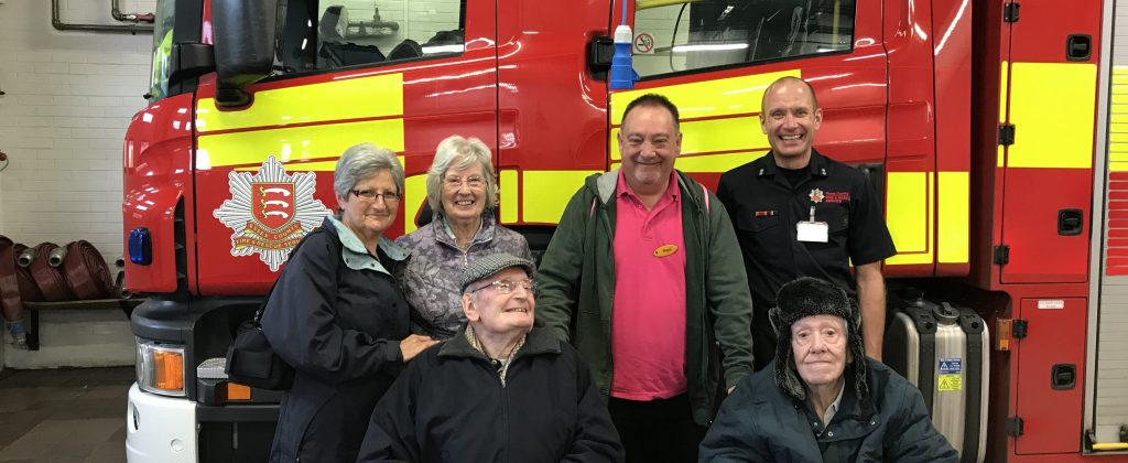 Ex-Architect's wish to return to fire station 38 years after built is granted
