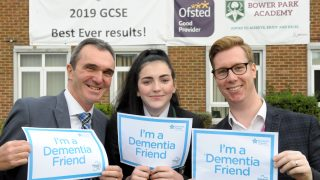 Anisha Grange manager helps 175 Romford pupils understand dementia