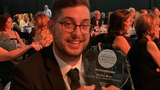Hallmark Care Homes team member scoops National Dementia Care Award