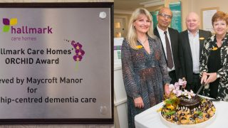 Chamberlain Court and Maycroft Manor presented with ORCHID award