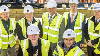 Hutton View celebrates milestone with topping out ceremony