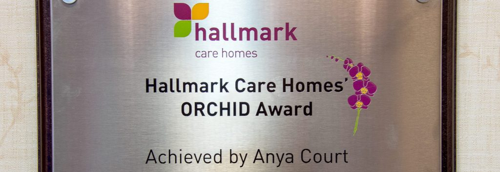 Anya Court receives ORCHID award