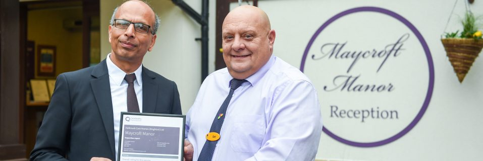 Maycroft Manor Care Home awarded 'Good' CQC rating