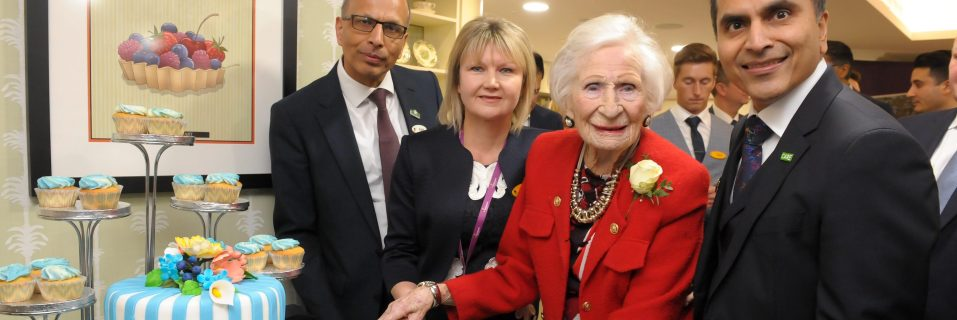 106-year-old resident helps launch Henley Manor Care Home