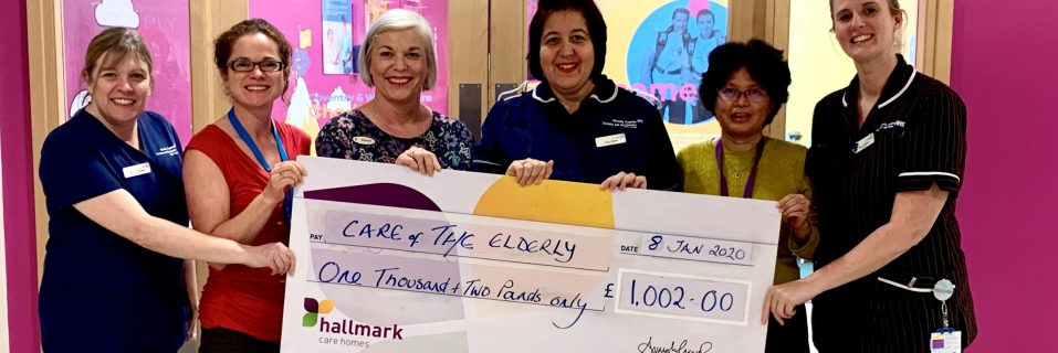 Anya Court raise over £1000 for local hospital