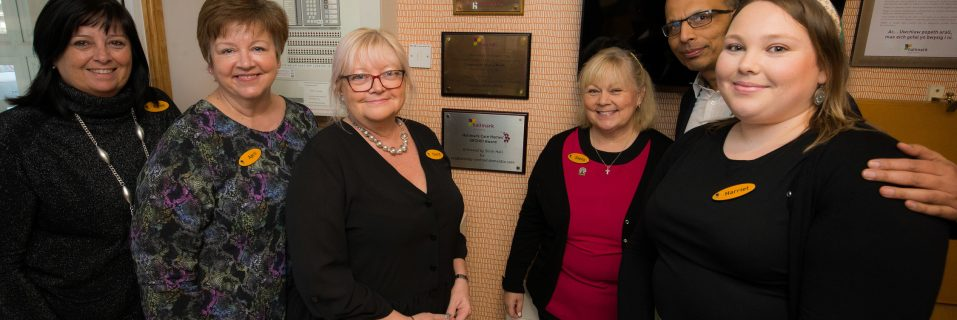 Shire Hall Care Home receives ORCHID Award