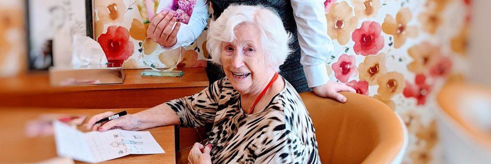 Anisha Grange starts community pen pal club