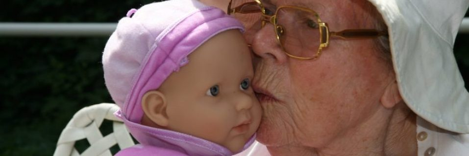 How we use doll therapy to support people living with dementia