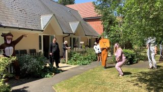 Bucklesham Grange celebrates the start of Springwatch