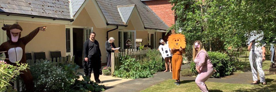 Bucklesham Grange celebrates the start of Springwatch