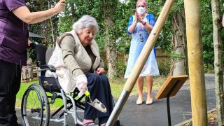 Hallmark Care Homes plant trees to mark unity