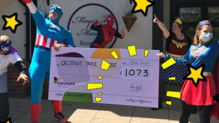 Maycroft Manor raise over £1,000 for local children's charity