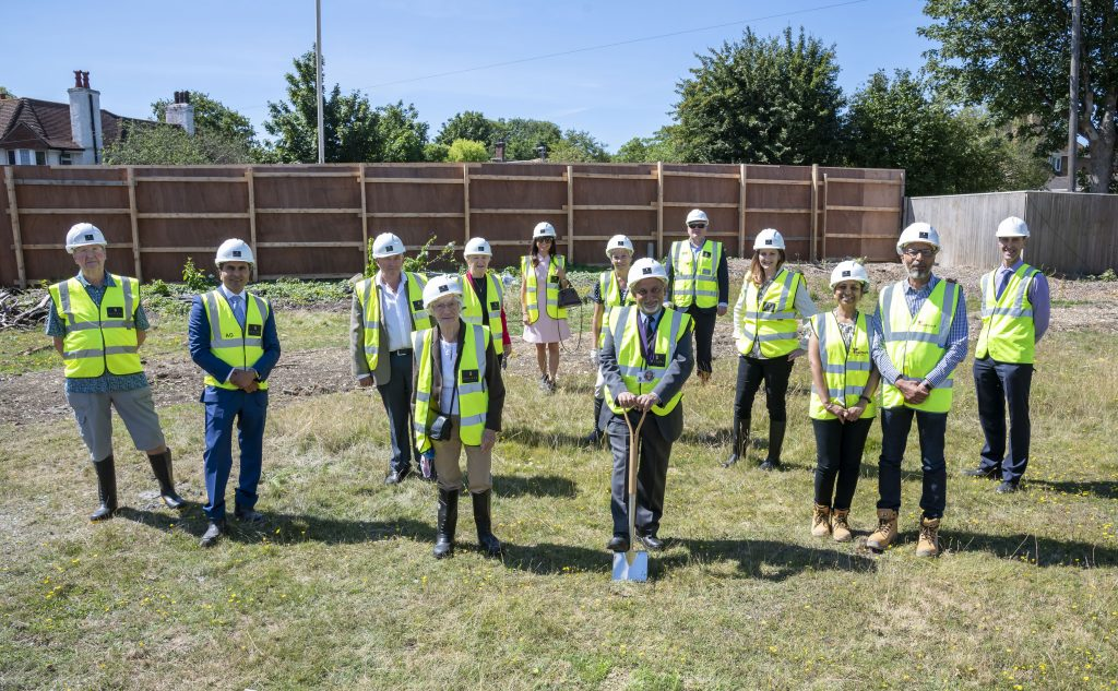 Construction begins for our new Eastbourne care home
