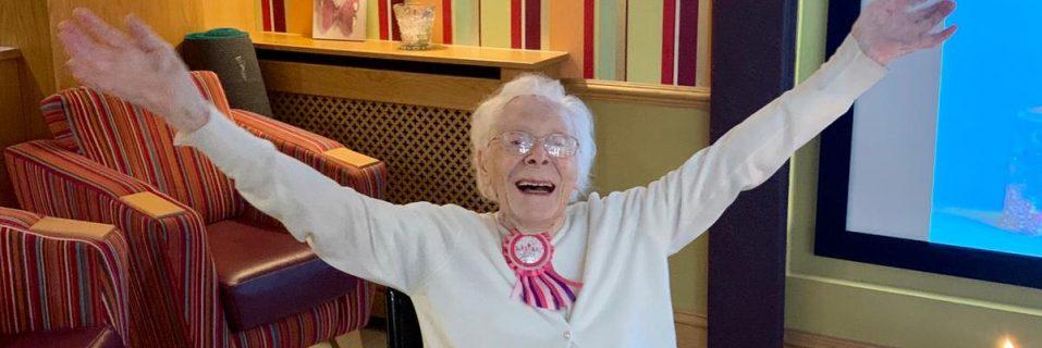 Anya Court resident celebrates 102nd birthday!