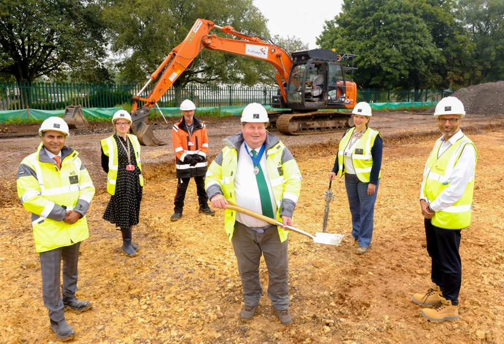 Construction begins for our new Bath care home