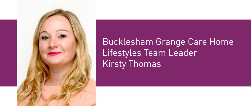 An honest interview with Kirsty, Lifestyle's Leader at Bucklesham Grange Care Home