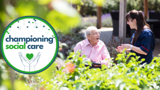 Hallmark Care Homes and Hallmark Foundation support launch of new cross-sector initiative 'Championing Social Care'