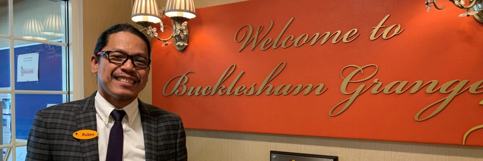 An honest interview with Ruben, General Manager at Bucklesham Grange Care Home