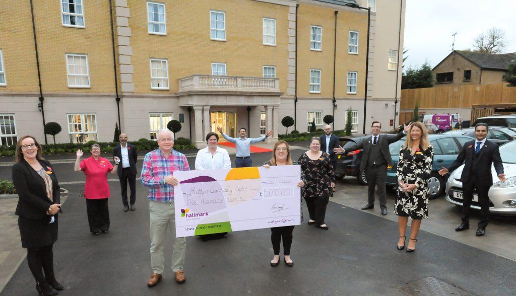 Hutton View donates £5,000 to the Hutton Community Centre