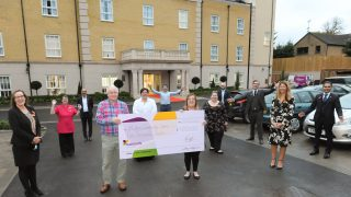 Hutton View donates £5,000 to the Hutton Community Centre