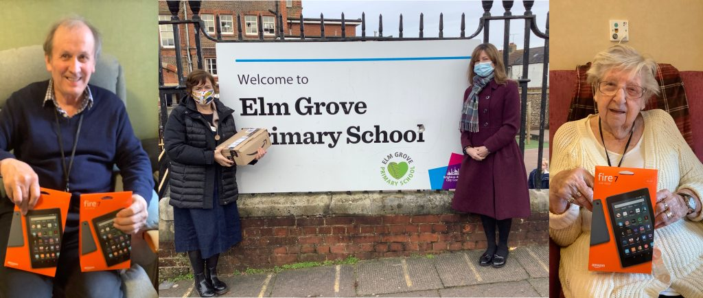 Maycroft Manor donates tablets to local school