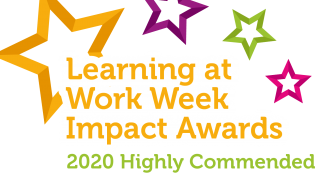 Hallmark Care Homes wins highly commended Learning at Work Week Impact Award