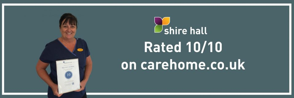 Shire Hall celebrates joining the country's top-rated care homes