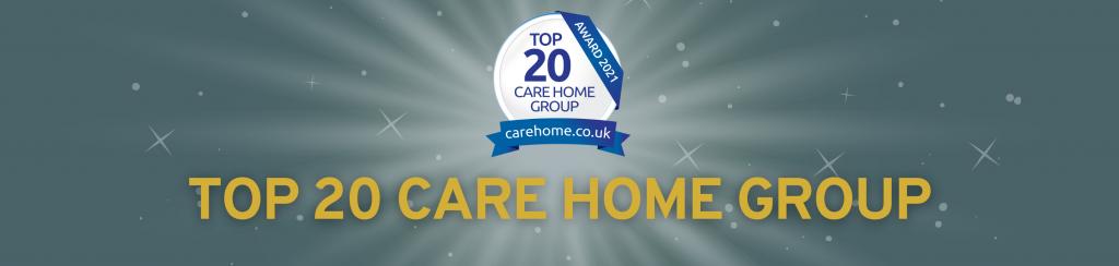 Top 20 awards for Hallmark Care Homes