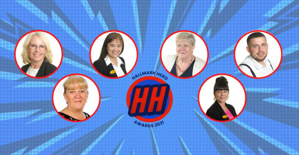 Outstanding team members recognised at Hallmark Hero Awards